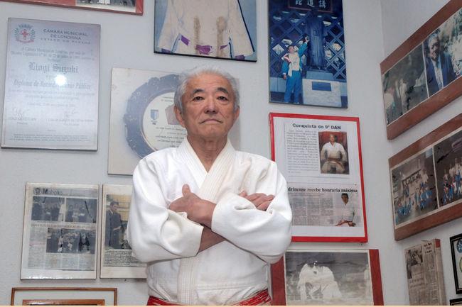 Referência no judô, Liogi Suzuki será Cidadão Honorário