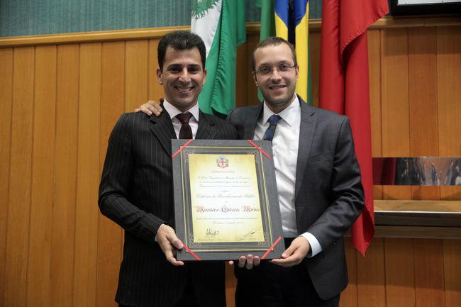 Ministério Gideões Mirins é homenageado na Câmara