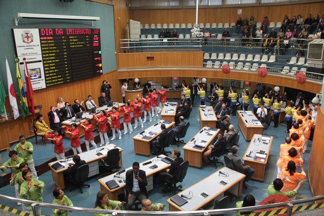 Cerimônia celebra os 110 anos de imigração japonesa